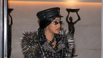 Singer Cardi B is seen on September 30, 2021 in Paris, France.