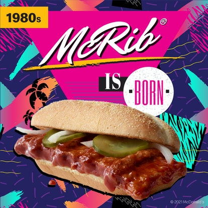 Here's when the McRib is coming back in 2021 because it's so soon.