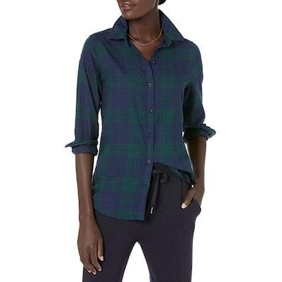 Amazon Essentials Lightweight Plaid Flannel Shirt