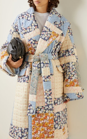 Sydney Quilted Cotton Coat