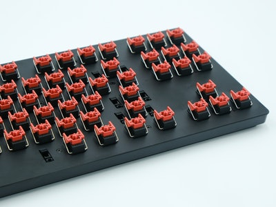 The Razer Huntsman V2 TKL uses optical switches. Mechanical gaming keyboard review.