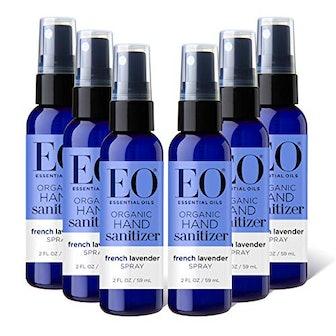 EO Organic Hand Sanitizer Spray (6-Pack)