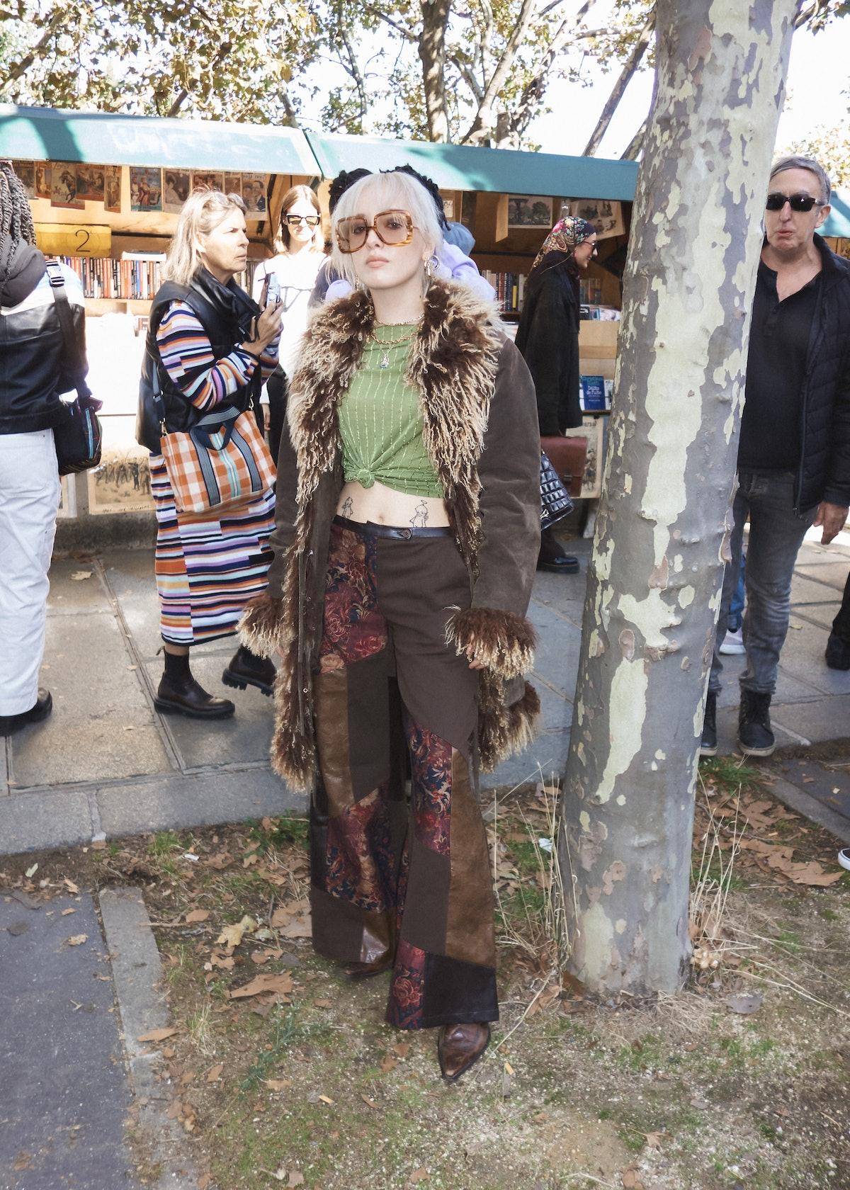 سبک خیابانی در هفته مد پاریس