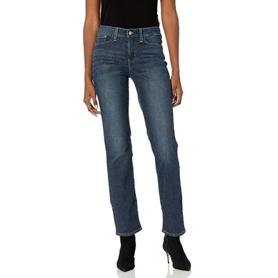 Signature by Levi Strauss & Co. Gold Label Curvy Totally Shaping Straight Jeans