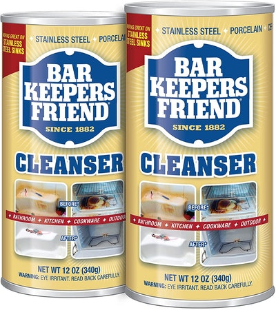 Bar Keepers Friend Powder Cleanser (2-Pack)
