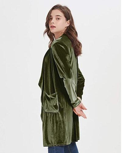 futurino Velvet Jacket