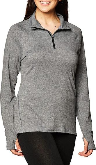 Hanes Sport Fleece Quarter Zip Pullover