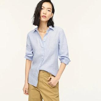 Slim-Fit Baird McNutt Irish Linen Shirt