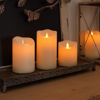 Homemory Flameless Candles (Set of 3)