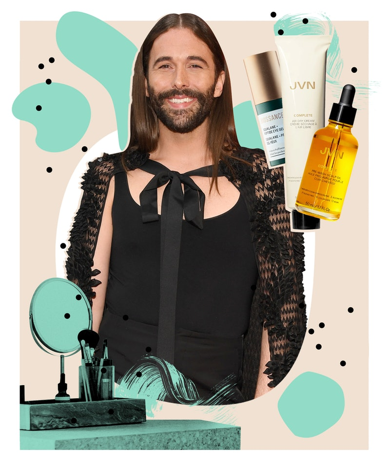 Jonathan Van Ness speaks to Bustle about their JVN haircare line, go-to beauty products, and upcomin...