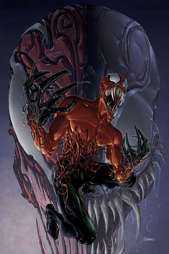 Toxin venom carnage marvel comics