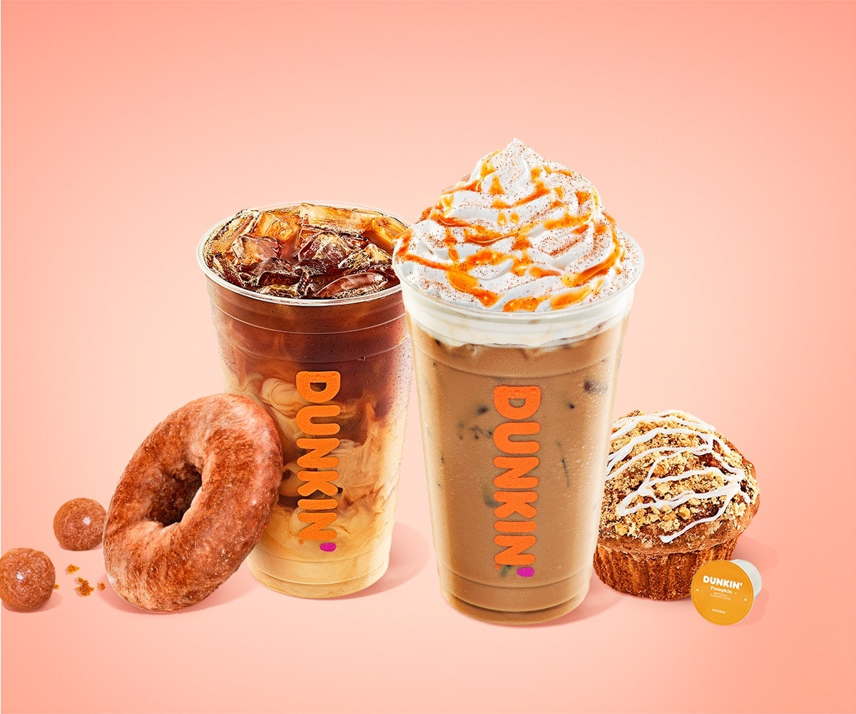 Dunkin's free drink deal in September and October 2021 is clutch.