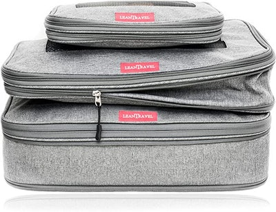 LeanTravel Compression Packing Cubes