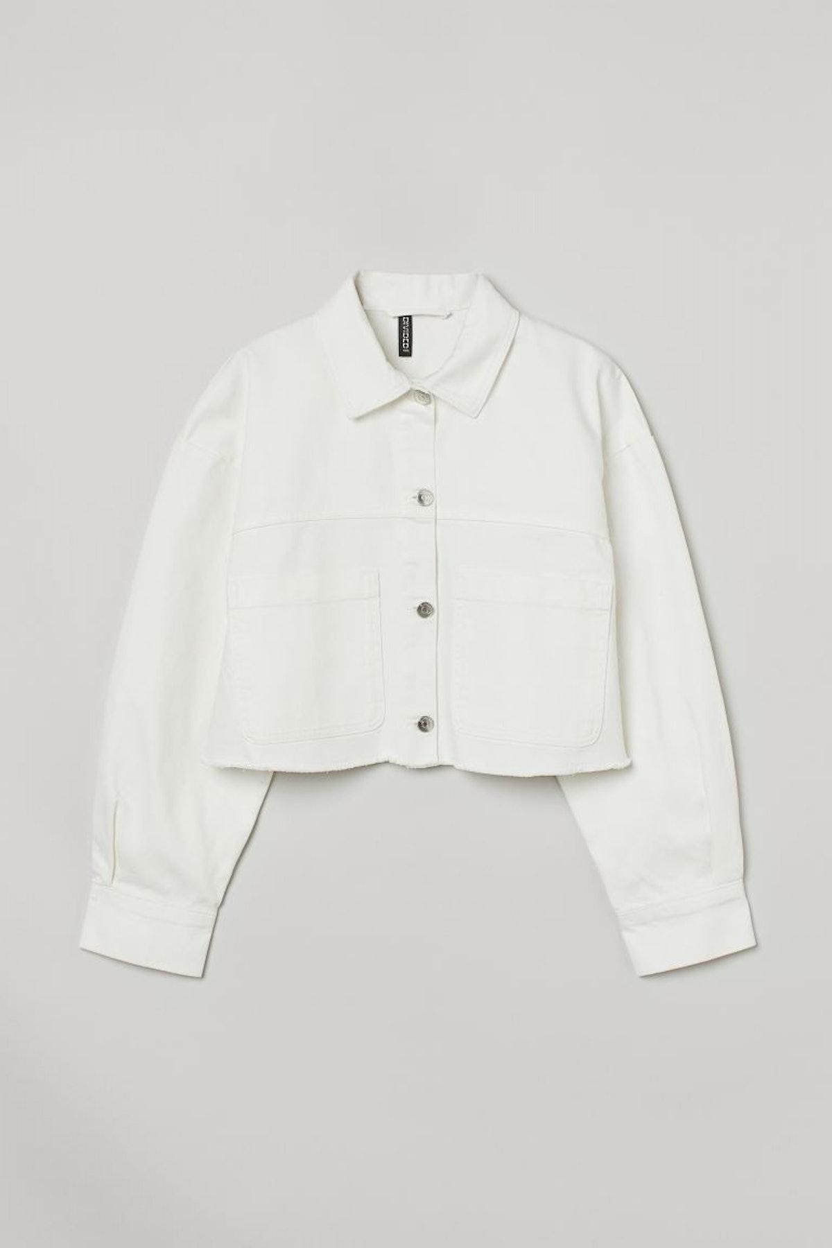H&M Twill Crop Jacket