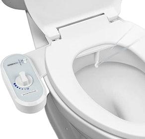 Greenco Bidet Fresh Water Spray  Toilet Seat Attachment