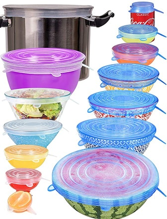 longzon Silicone Stretch Lids (14-Pack)