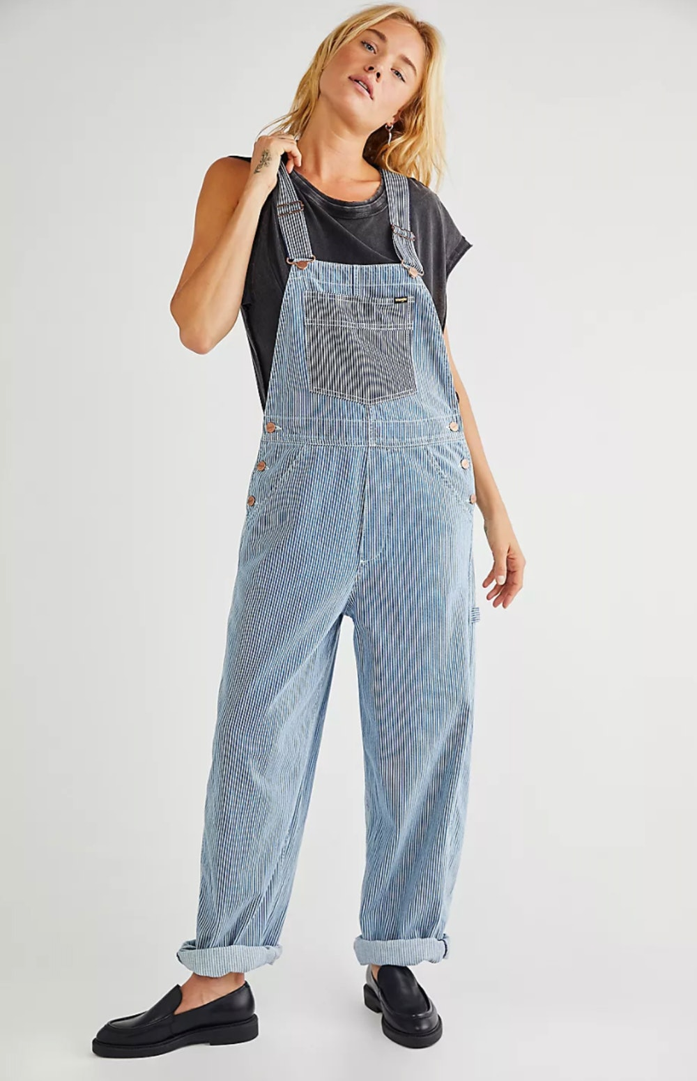 Relaxed Bib Overalls