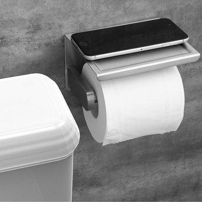Polarduck Toilet Paper Roll Holder with Shelf