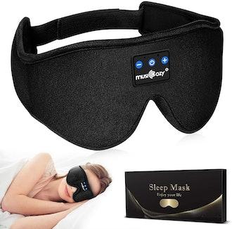 MUSICOZY Bluetooth Headphone Sleep Mask