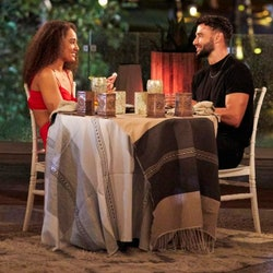 Brendan Morais and Pieper James on a date on 'Bachelor in Paradise'