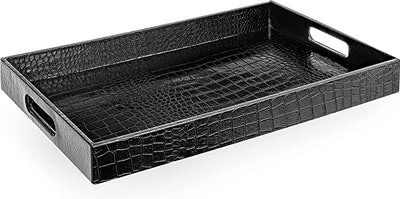 Home Redefined Glossy Alligator Tray