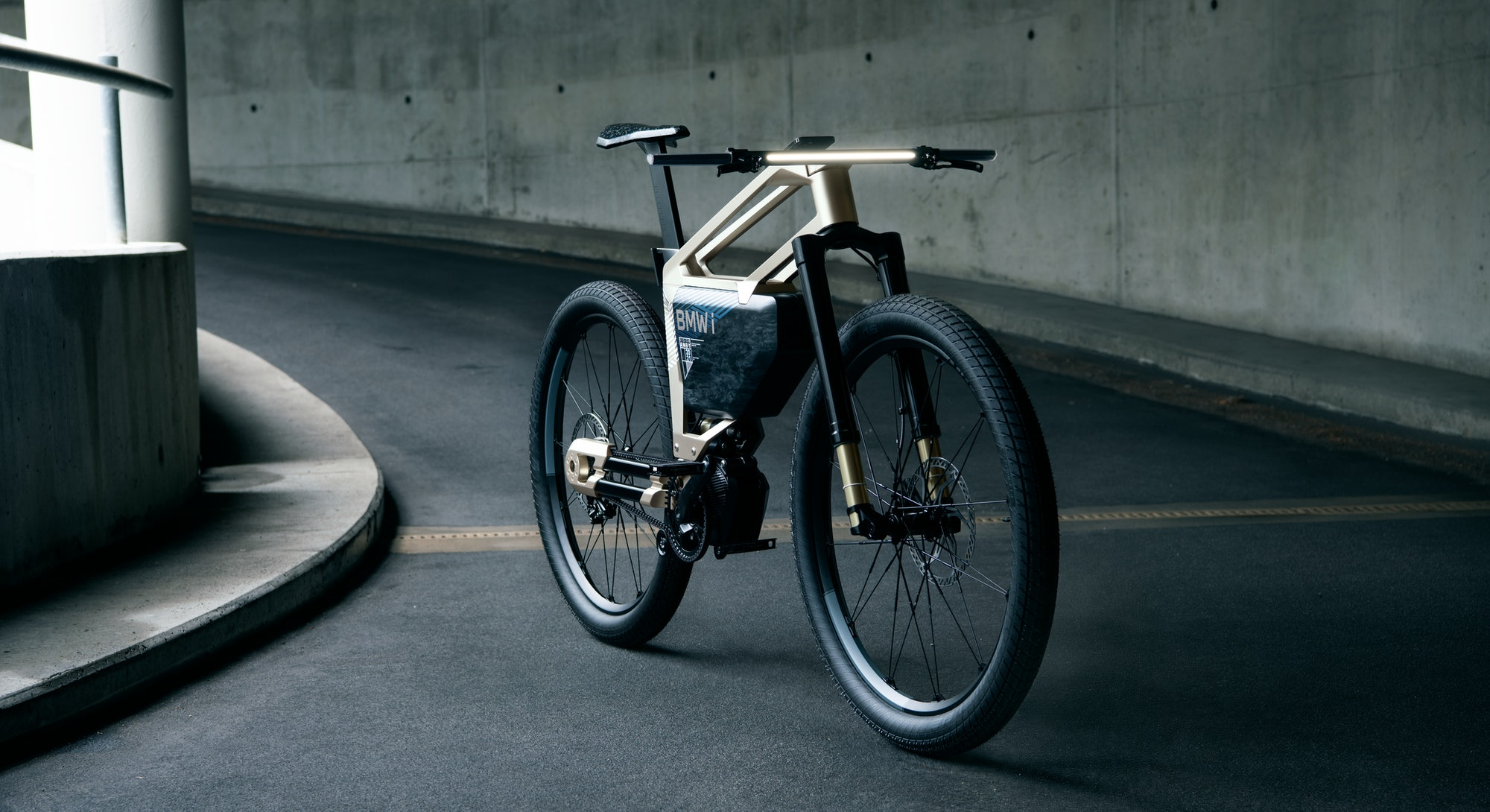 A BMW e-bike concept called i Vision AMBY which is between an electric bicycle and an electric motor...