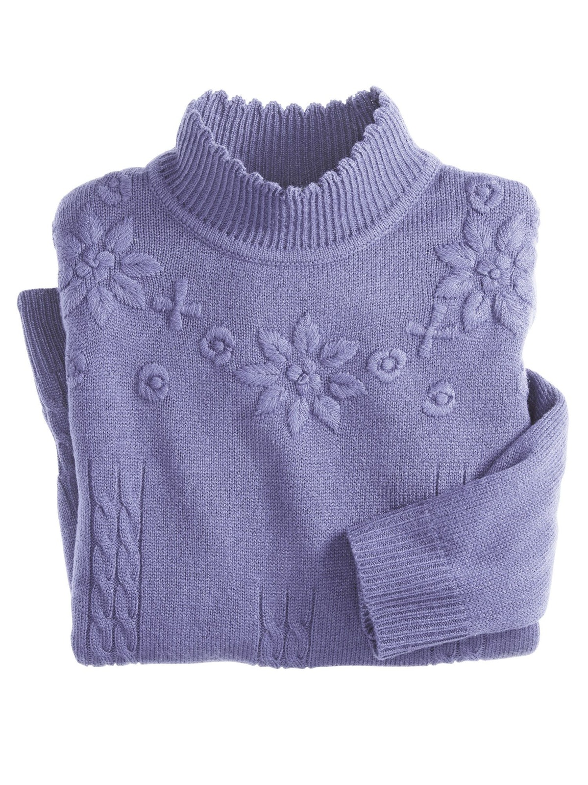Women's Floral Detail Sweater