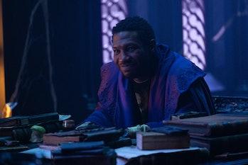 Jonathan Majors as He Who Remains, a Kang variant, in Loki Episode 6