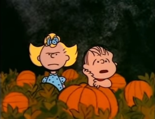 It's The Great Pumpkin Charlie Brown first aired in 1966