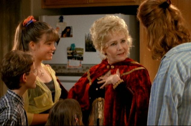 Debbie Reynolds stars in Halloweentown