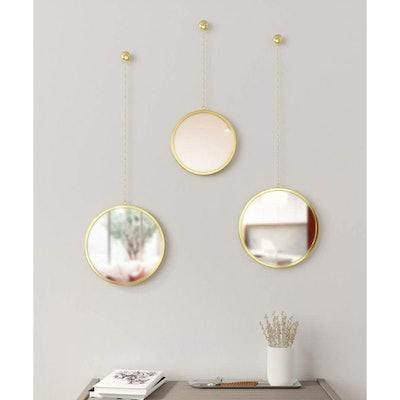 Umbra Dima Round Mirrors (Set of 3)