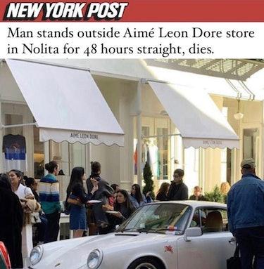 nolita dirtbag streetwear memes aime leon dore