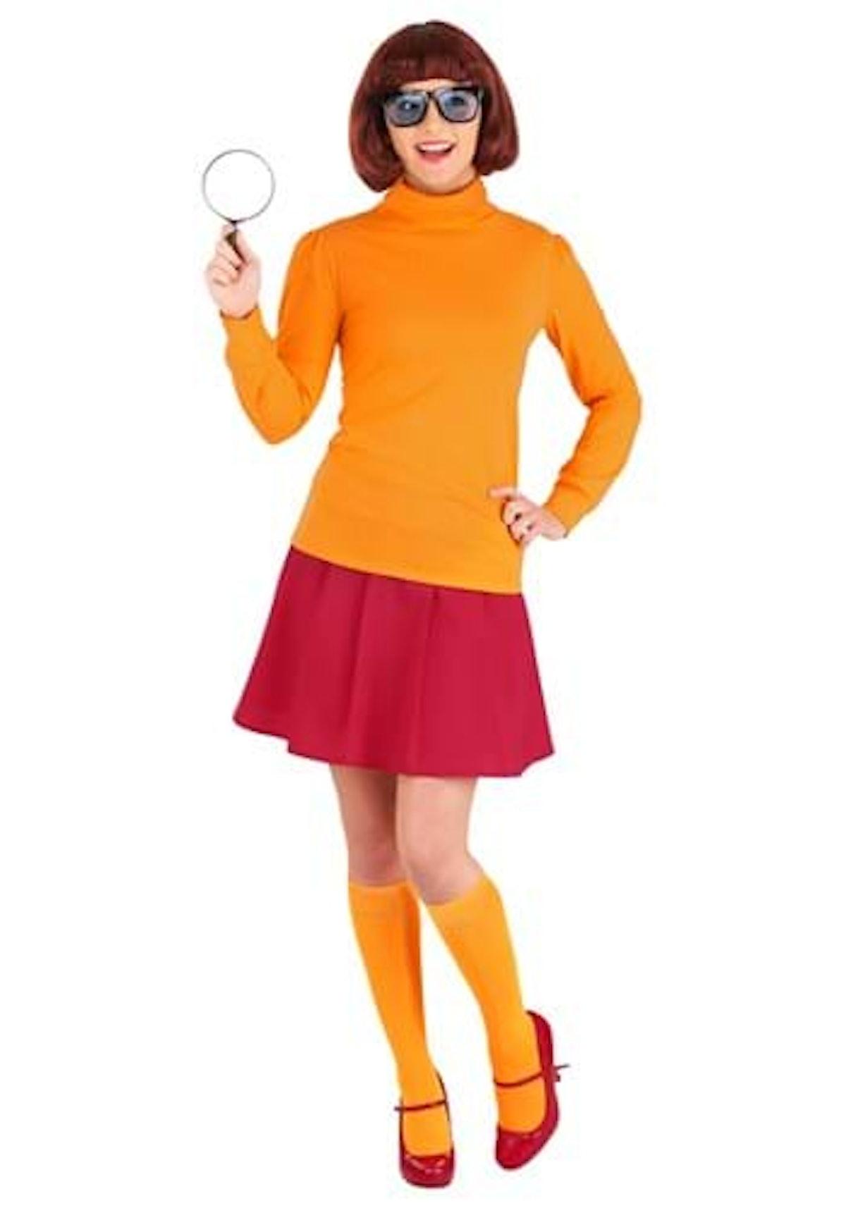 Plus Size Classic Scooby-Doo Velma Costume