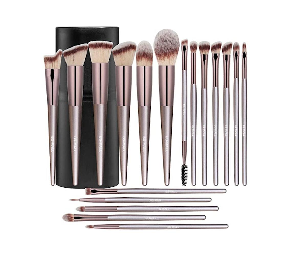 BS-MALL Makeup Brush (18 Pieces)