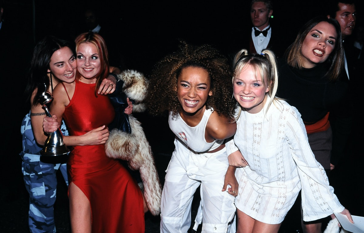 Spice Girls at the 1996 NTAs.