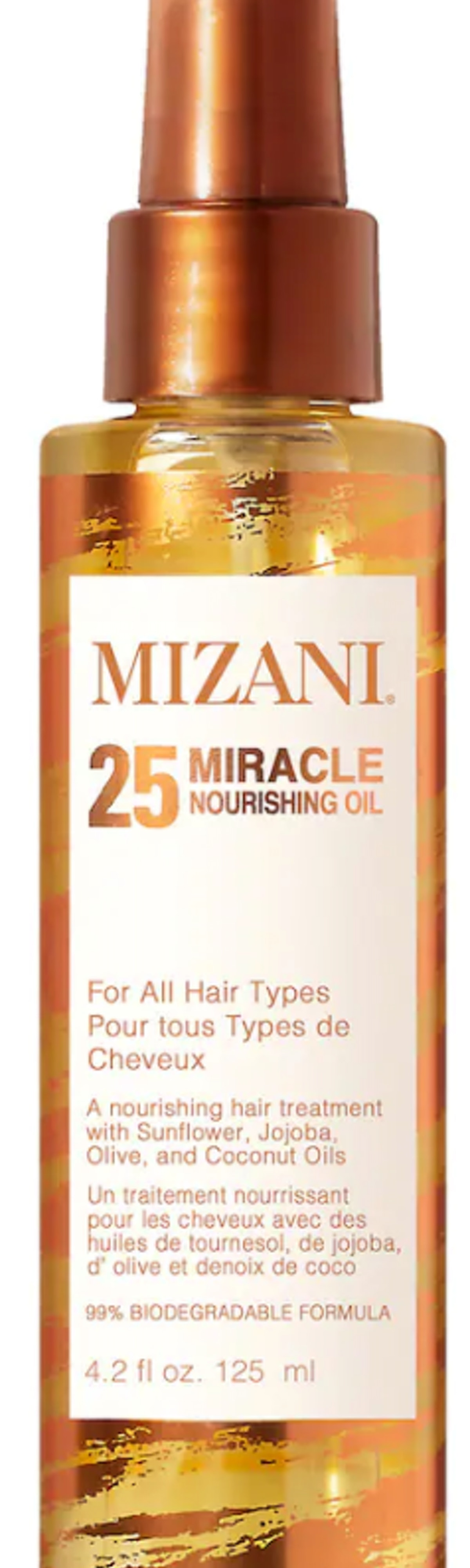 25 Miracle Nourishing Oil