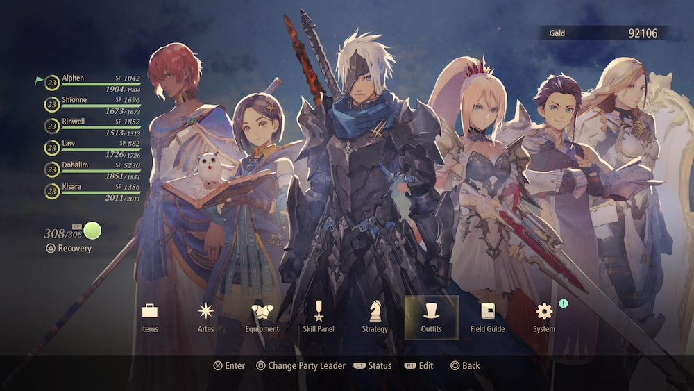 Tales of Arise, Main Character Cast