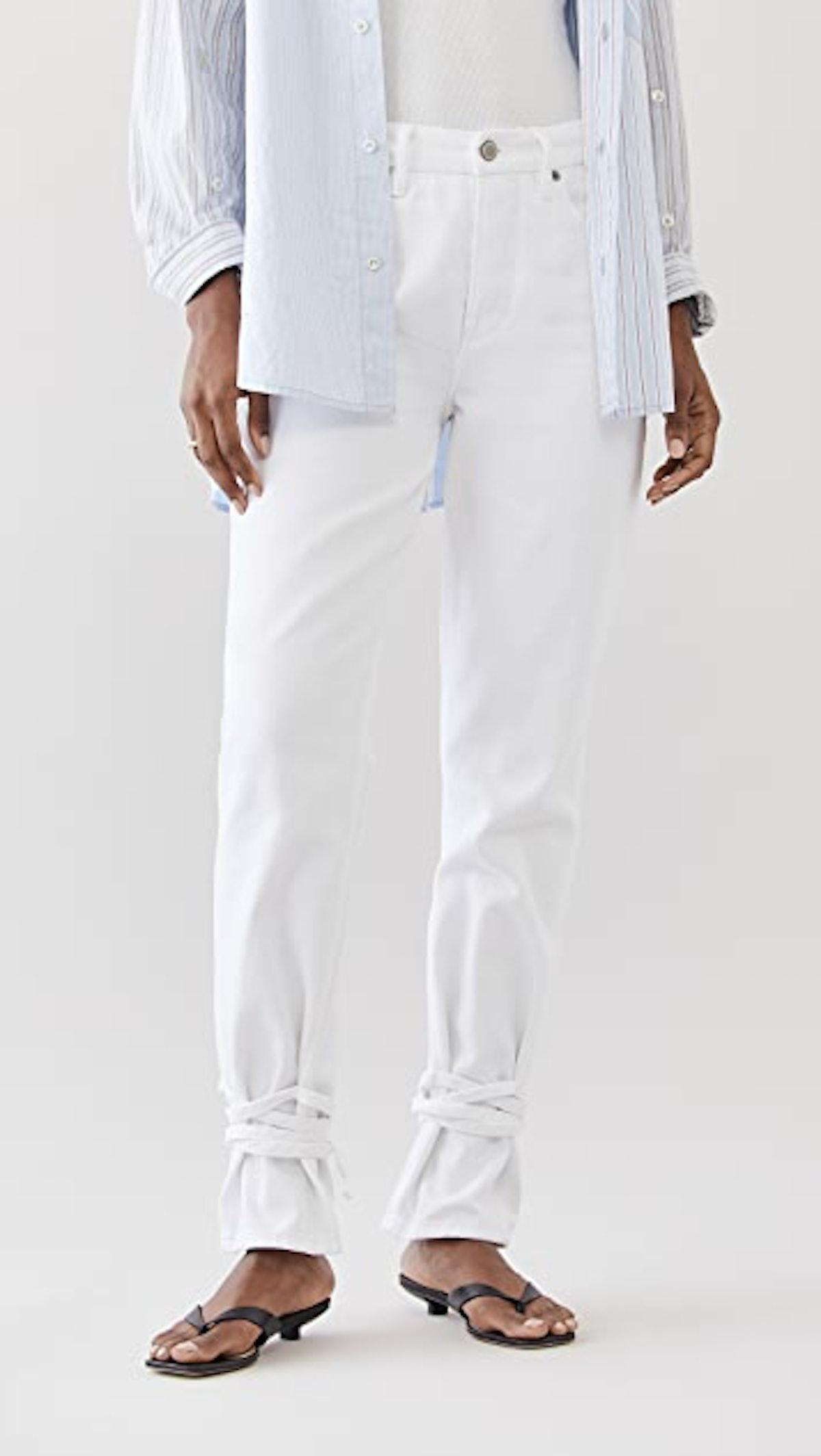 Women's Good Boy Ankle Wrap Jeans