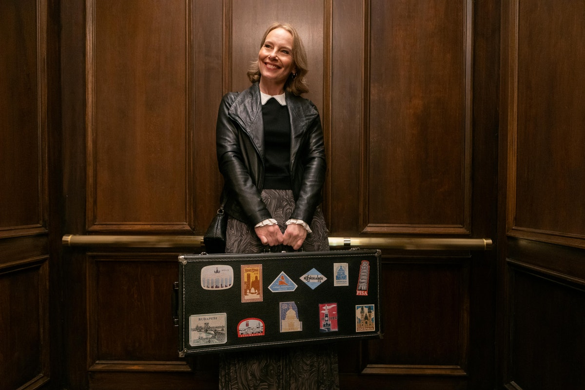 Jan (Amy Ryan) is Charles' new love interest in 'Only Murders In The Building'
