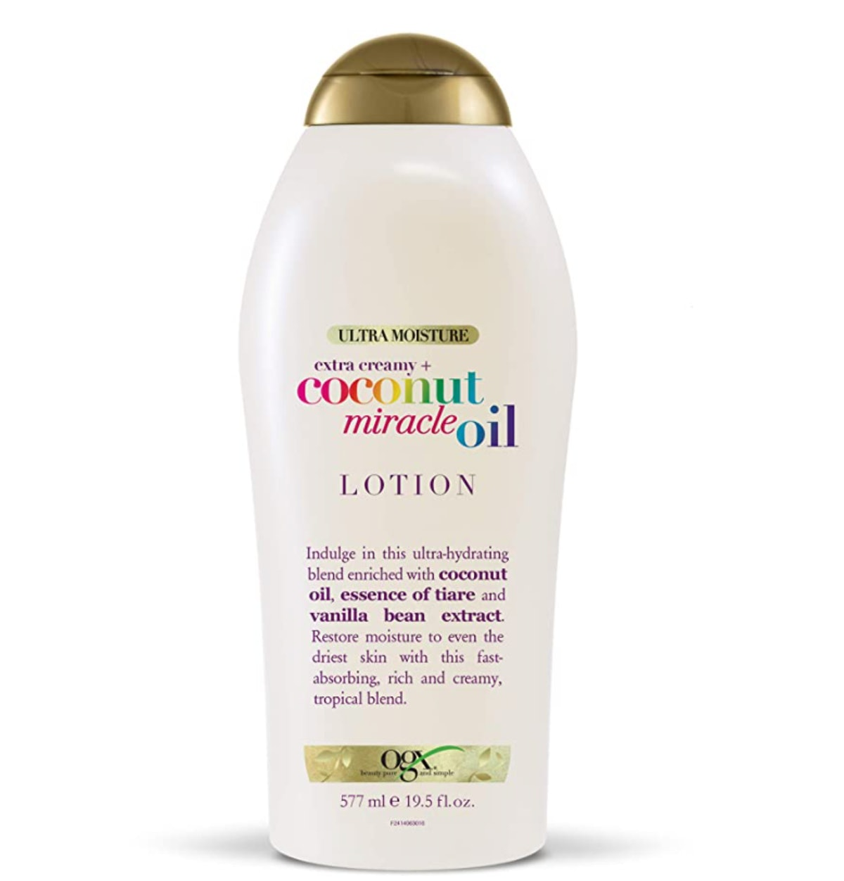 OGX Extra Creamy + Coconut Miracle Oil Body Lotion