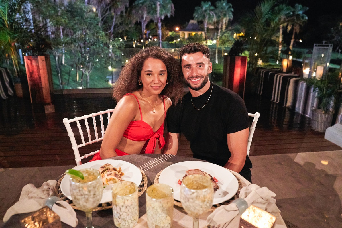 Brendan and Pieper on Season 7 of ABC's 'Bachelor in Paradise'
