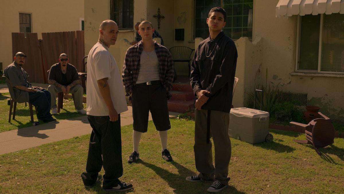 DIEGO TINOCO as CESAR and JOSHUA ARMANDO TICAS as JOKER in 'On My Block' Season 4