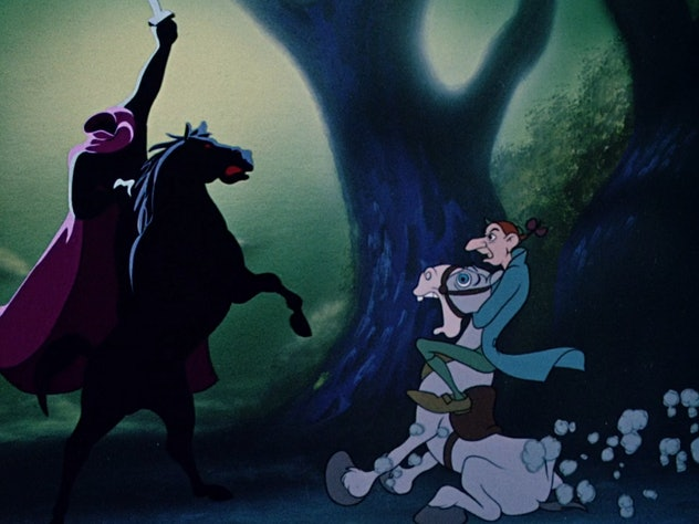 The Legend of Sleepy Hollow is narrated by Bing Crosby.