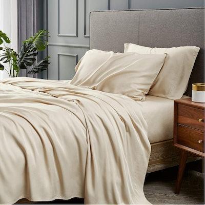 Bedsure Bamboo Sheets Set (4 Pieces)