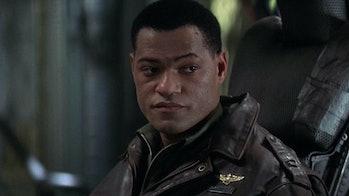 Laurence Fishburne as Capt. S.J. Miller in Event Horizon