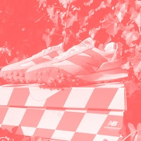Wearing New Balance's Casablanca XC-72: A race car for your feet