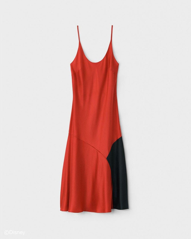 Rag & Bone's Cruella red midi dress.
