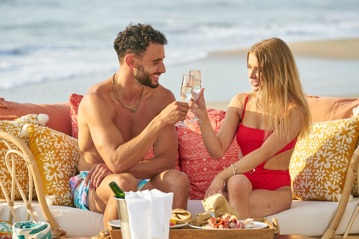 Brendan and Demi on Season 7 of ABC's 'Bachelor in Paradise'