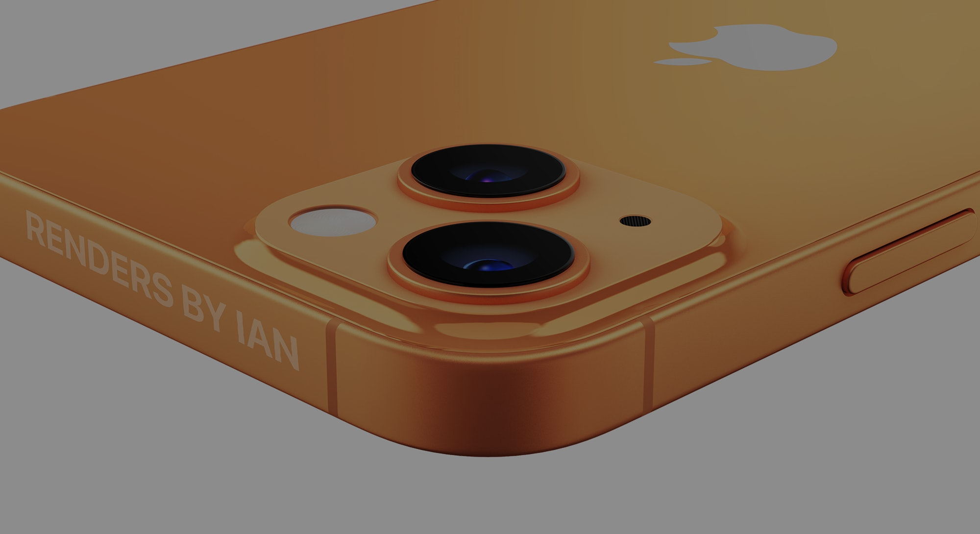 iPhone 13 concept render depiction created by RendersByIan