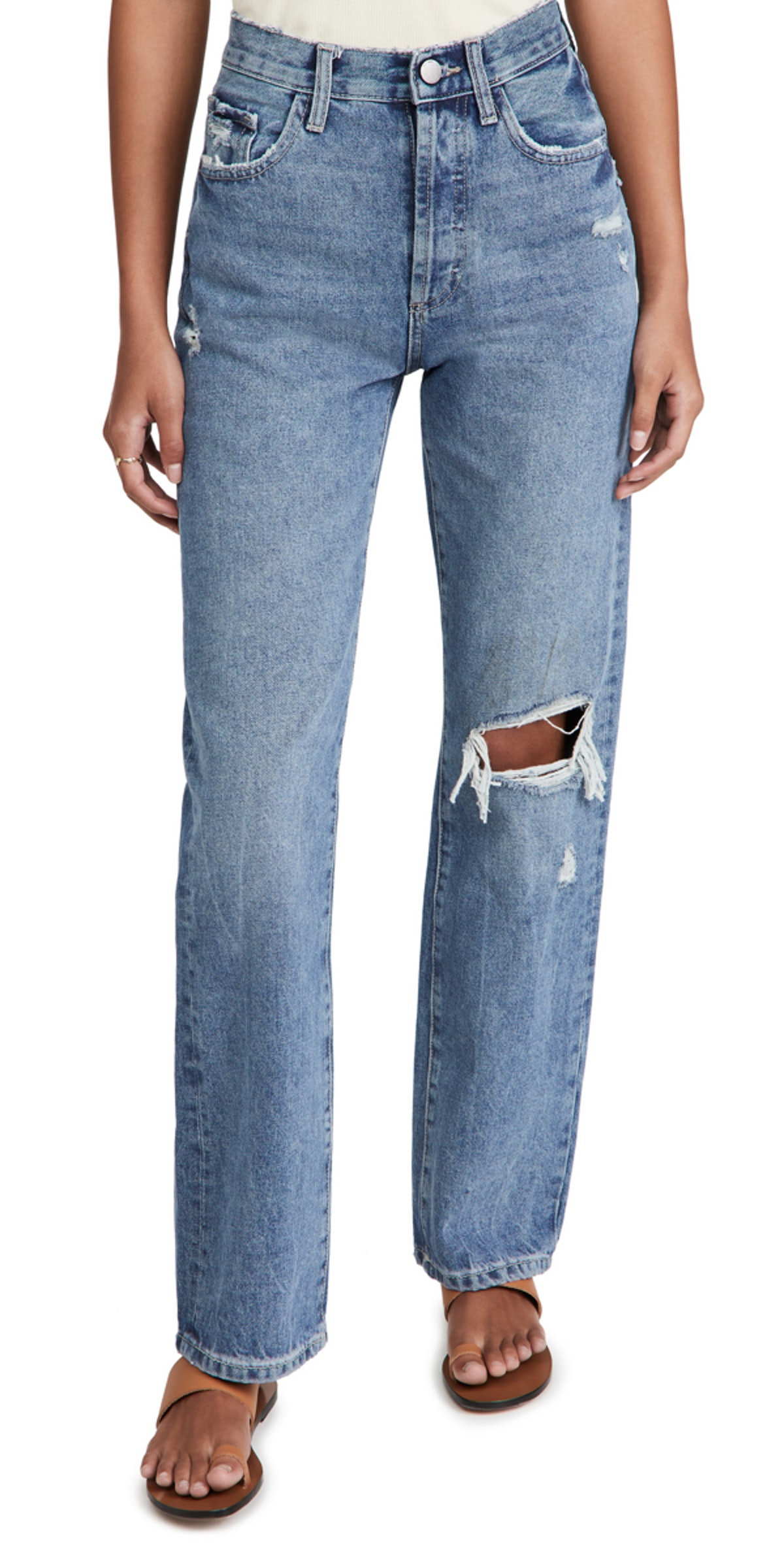 Women's Emilie Straight Ultra High Rise Vintage Jeans